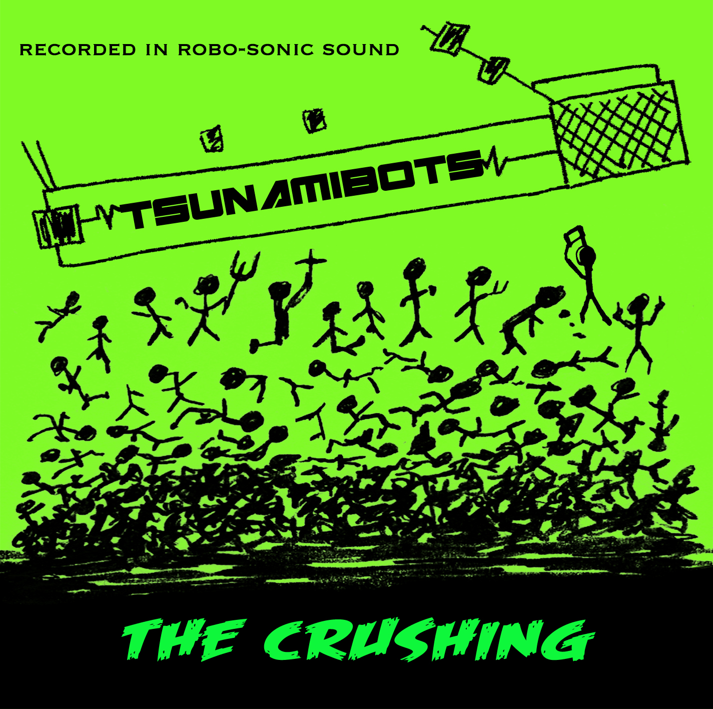 SRW011 The Tsunamibots - The Crushing (Digital Download) Image