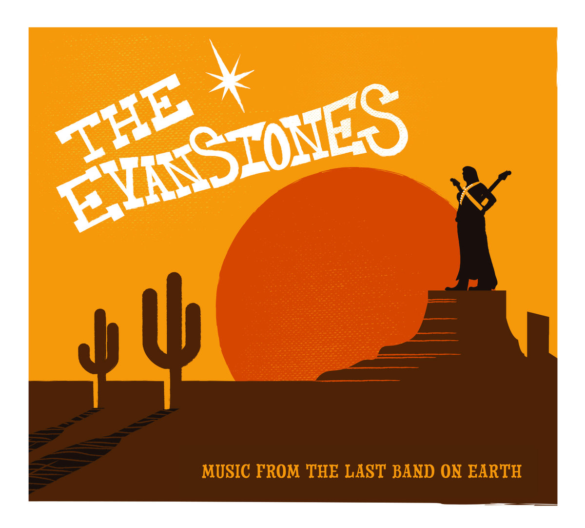 SRW017 The Evanstones - Music From The Last Band On Earth Image