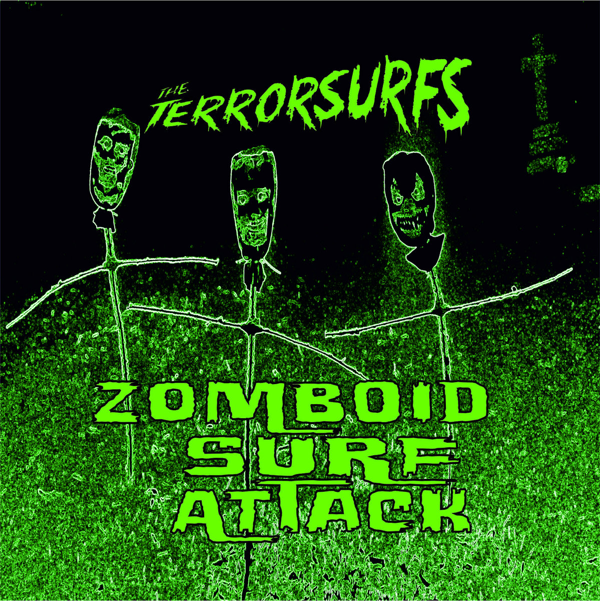 SRW014 The Terrorsurfs - Zomboid Surf Attack (Digital Download) Image