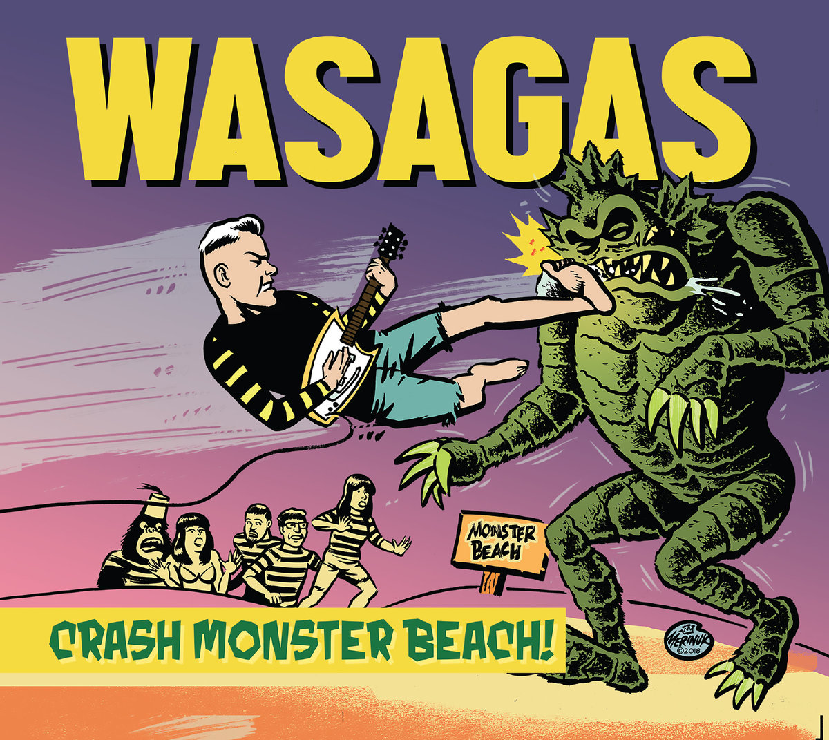 Wasgas Crash Monster Beach
